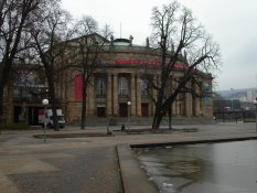 The opera in Stuttgart