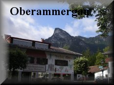 Entrance for Oberammergau