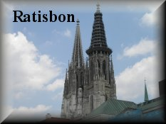 Entrance for Regensburg - Ratisbon