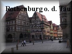 Entrance for Rothenburg ob der Tauber