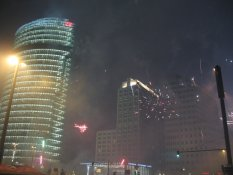 New Year's Eve-Day 2007-2008 in Potsdamer Platz