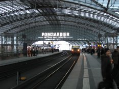 Bombardier the Main Railway Station