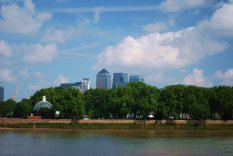 Greenwich Foot Tunnel and Canada Tower