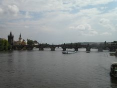 The Charles's Bridge in Prague
