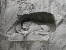 The French lion of Luzern