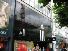 Adidas store in Frankfurt am Main