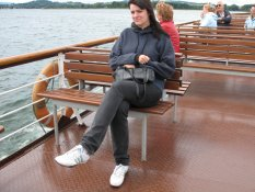 Lizette Nilsson on the Chiemsee