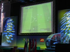 Playing computer football at CeBIT