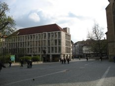 The centre of Stuttgart