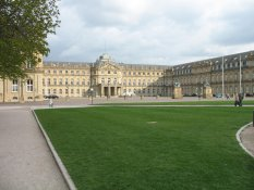 The New Castle of Stuttgart