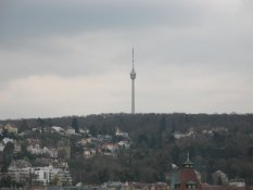 The TV-Tower of Stuttgart