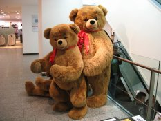 Bears at Karstadt
